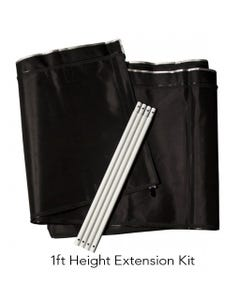 Gorilla Grow Tent  - LITE LINE -  1FT Height Extension Kit