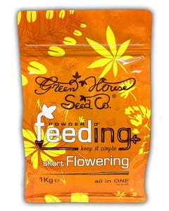 Green House Powder Feeding - Short Flowering - 16-6-26 - Complete Nutrient