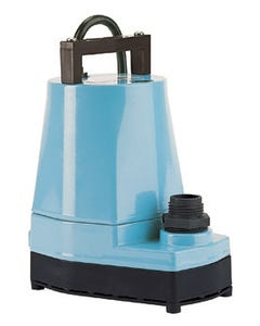 Little Giant 5-MSP Submersible Pump (Blue) - 1200 GPH