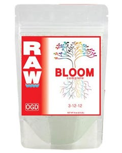 RAW Bloom All-In-One Nutrient 3-12-12  -- 10 lb