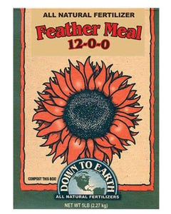 Down To Earth - Feather Meal  (12-0-0)
