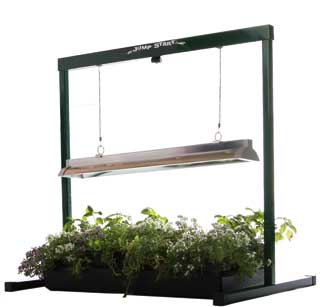 Jump Start - Grow Light System 2 ft. T5 - Stand, Fixture, & Tube Seed Starting, Seedling, Seedstarting Supplies, Gardening, Seed-Starting, Garden