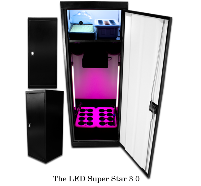 Etonnant SuperCloset   LED SuperStar   LED Stealth Grow Box Direct From Growers House
