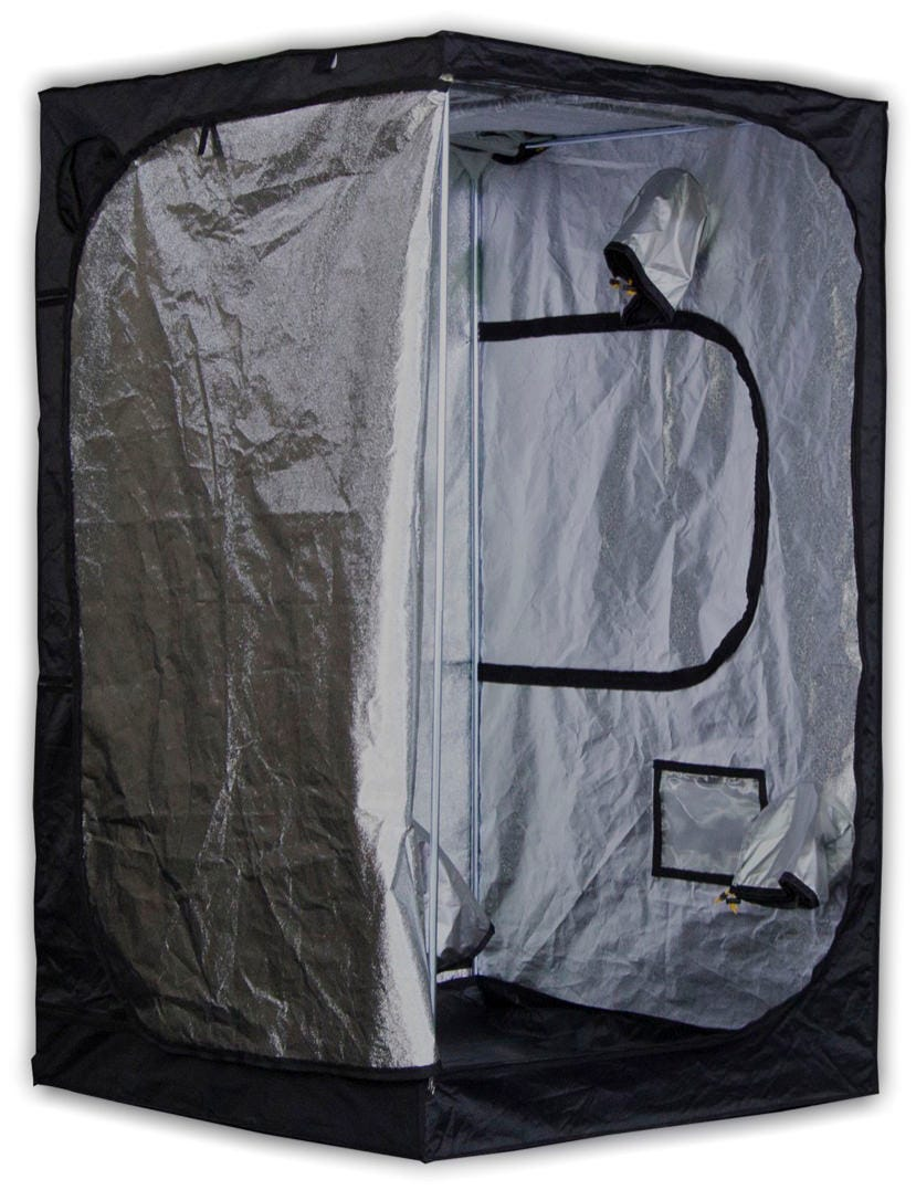 Mammoth Tent - Pro 120 - 4 x 4 x 6ft Mammoth Pro 120 - 4ft x 4ft x 6ft - Grow Tent The team at Mammoth used to manufacture grow tents and darkroom products for the Secret Jardin brand. Secret Jardin moved to another manufacturer and now Mammoth can bring driectly to the market their Darkroom and Darkstreet tents (Now Pro and Classic). The same high quality materials and craftsmanship at a great new price. Quick and easy to assemble - no tools required 210D Mylar Tough fabric lined with 95% reflective mylar Heavy-duty Steel frame tubes secured with specially engineered corner segments High-quality zips for a totally light-proof unit Hanging tubes with 66 pounds weight capacity for lights, carbon filters, duct fans, etc. Washable at 104 F degrees for quick and easy cleaning Removable waterproof water tray How the Mammoth Pro 120 Works Mammoth Pro Grow Tents are premium products minus the premium price-tag - light-years ahead of the countless low-grade alternatives on the market. They're an intensively researched, tried-and-tested product, designed to provide you with the features required to create the perfect, enclosed growing environment. The team at Mammoth have thought of everything: there are built-in access points to accommodate equipment for every aspect of your indoor garden. The tent's framework is constructed using high-strength steel poles that are secured into position using new, specially engineered polypropylene corner segments - now three times stronger than those of other grow tents. It's also manufactured using heavy-duty fabric. Quality material is crucial to eliminating light leaks and keeping your grow protected. Photosynthesis is the lifeblood of your plants; for this reason, they are very finely attuned to variations in light cycles. Cheap tents with weak spots that cause light-leaks can lead to disastrous results. That's why you need a grow tent with the prestige of the Mammoth Pro Grow Tents: when the zips are closed, this tent forms a properly