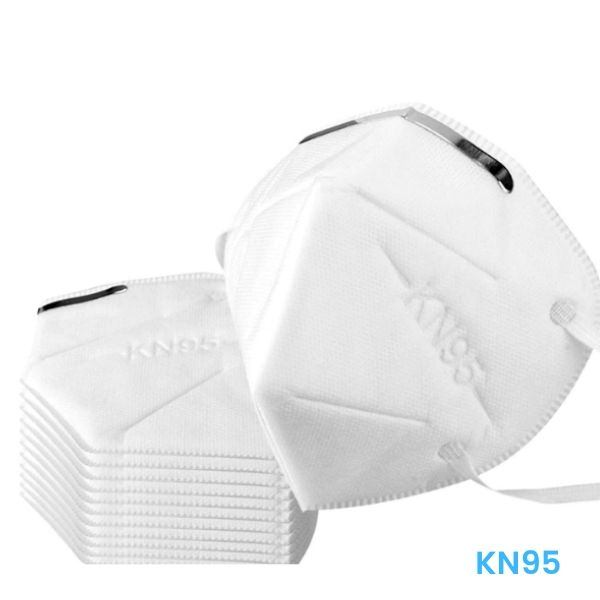 KN95 Protective Face Mask (10-Pack) Protect yourself from airborne dust, pollen and other allergens with the KN95 Protective Face Mask. Suitable for adults daily travel protection, the 4-ply foldable face mask has a filtration efficiency of greater than/equal to 95%, to protect against particulates greater than 0.3 micron, effectively protecting respiratory health. The nose piece fits securely over the bridge of the nose and the ear bands keep the mask secure from shifting during movement. Ideal for daily use at home and at work, travel, or trips to the supermarket and gym, the masks help prevent the spread of germs and protect yourself from airborne particles and allergens. Warning: this mask is not intended as a replacement for gas masks and medical masks. Not suitable for toxic environments. Not for use of breathing is impeded or unsteady, or during sleep. Masks are disposable and cannot be washed or reused. 10-pack: of KN95 masks 4-ply design protects against airborne allergens and pollen greater than 0.3 microns in size Greater than 95% filtration efficiency effectively protects respiratory health Fits securely over face to prevent shifting during movement Ideal for daily use at home and at work, travel, or trips to the supermarket and gym