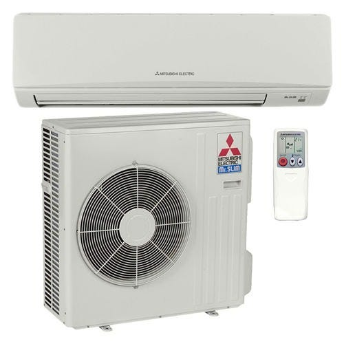 Mitsubishi - 30k BTU Cooling + Heating - M-Series Wall Mounted Air Conditioning System - 14.5 SEER *DISCONTINUED* This item has been discontinued, Please try our selection of Air Conditioners for an alternative. For over 50 years, Mitsubishi has remained at the forefront of the mini split industry thanks to their dedication to providing efficient, user-friendly comfort solutions. The MZ-D30NA-1 is a packaged single zone heat pump mini split system designed to bring powerful heating and cooling to any room in your home. The wall mounted indoor unit, MSZ-D30NA-8, boasts a functional design, and operates at volumes as low as 32 dB. Thanks to the included mounting plate, it is easy to install on nearly any wall. The outdoor condenser uses some of the most advanced technology available to modulate temperature without the energy-wasting overshoots and short-cycling associated with simpler systems. With an included wireless remote controller, this system is the perfect combination of convenience and comfort for any application. Precision Temperature Control Technology The MUZ-D30NA-1 outdoor condenser includes inverter technology and an electronic linear expansion valve. By adjusting compressor speed and refrigerant flow, output can be matched to the zone for precise temperature control and improved efficiency. Advanced Filtration System The MSZ-D30NA-8 combines a hybrid catechin deodorizing filter with an enzyme-based filter for managing allergens. The anti-allergy filter not only captures the offending particles, it also breaks them down, cleaning the air as it is conditioned. Hot-Start Mitsubishi's hot start technology prevents cold drafts by delaying fan operation until the heat exchanger has warmed up. Powerful Mode The powerful setting on the MSZ-D30NA-8 makes it easy to get your zone to the perfect temperature quickly. When activated, the unit temporarily increases refrigerant flow and fan speed to provide quick comfort through rapid heating or cooling. Econo Cool M