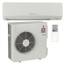Mitsubishi - 36k BTU Cooling + Heating - M-Series Wall Mounted Air Conditioning System - 14.5 SEER *DISCONTINUED* This item has been discontinued, Please try our selection of Air Conditioners for an alternative. For over 50 years, Mitsubishi has remained at the forefront of the mini split industry thanks to their dedication to providing efficient, user-friendly comfort solutions. The MZ-D36NA-1 is a packaged single zone heat pump mini split system designed to bring powerful heating and cooling to any room in your home. The wall mounted indoor unit, MSZ-D36NA-8, boasts a functional design, and operates at volumes as low as 32 dB. Thanks to the included mounting plate, it is easy to install on nearly any wall. The outdoor condenser uses some of the most advanced technology available to modulate temperature without the energy-wasting overshoots and short-cycling associated with simpler systems. With an included wireless remote controller, this system is the perfect combination of convenience and comfort for any application. Precision Temperature Control Technology The MUZ-D36NA-1 outdoor condenser includes inverter technology and an electronic linear expansion valve. By adjusting compressor speed and refrigerant flow, output can be matched to the zone for precise temperature control and improved efficiency. Advanced Filtration System The MSZ-D36NA-8 combines a hybrid catechin deodorizing filter with an enzyme-based filter for managing allergens. The anti-allergy filter not only captures the offending particles, it also breaks them down, cleaning the air as it is conditioned. Hot-Start Mitsubishi's hot start technology prevents cold drafts by delaying fan operation until the heat exchanger has warmed up. Powerful Mode The powerful setting on the MSZ-D36NA-8 makes it easy to get your zone to the perfect temperature quickly. When activated, the unit temporarily increases refrigerant flow and fan speed to provide quick comfort through rapid heating or cooling. Econo Cool M