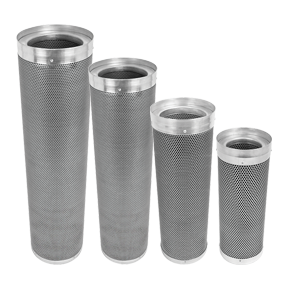 Phresh Skinny Filter 10 inch x 35 inch 650-850CFM *DISCONTINUED* Unique inverted filter bed offers the best filtration in the industry on a budget. Phresh Skinny Filter contains 100% Pro-4/8 Australian carbon for the maximum possible air filtration. Thinner in diameter and up to half the weight of other competing filters. Small and light enough for easy single person installation. The expected lifespan of a Phresh Skinny target 9 months but up to a very respectable 1 year when used in an optimal climate. That's up to 66% longer than other budget filter brands. 701300Phresh Skinny Filter6  x 24 CFM 300-450 701305Phresh Skinny Filter8  x 32 CFM500-750 701310Phresh Skinny Filter10  x 35 CFM650-850 701315Phresh Skinny Filter12  x 39 CFM900-1050 For more information visit www.phreshfilter.com