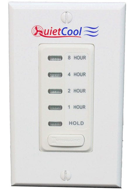 Photograph of QuietCool 8 Hour Electronic Timer with Hold