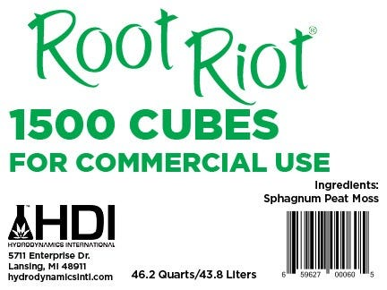 Photograph of Hydrodynamics Root Riot Replacement Cubes - 1500 Cubes