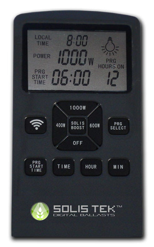 Solis Tek LCD remote for LCD1000