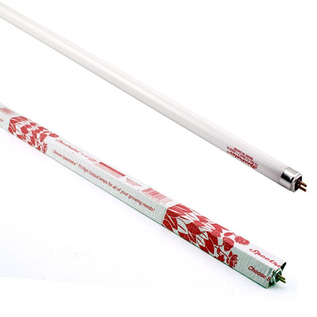 Spectralux T5 HO Fluorescent Grow Lamp -- 4' 3000K Pack of Four