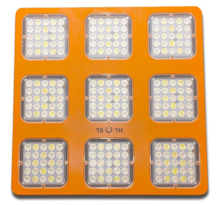 Truth Lighting LED - M9 - 9 Module LED Grow Light