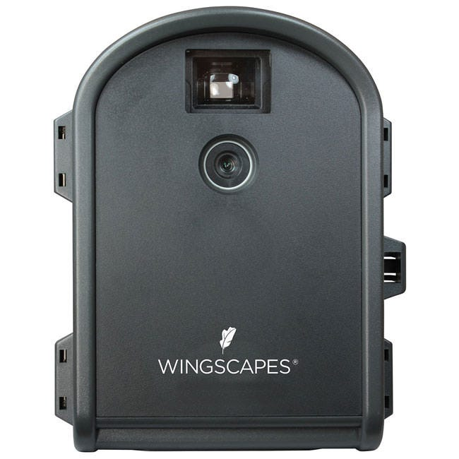 Wingscapes Time Lapse Camera *DISCONTINUED* This item has been discontinued. Highlight your projects advancements with the Wingscapes Time Lapse Cam. This camera allows the user to see photos or videos individually or grouped together in a fast forward video to see change quickly. This camera is simple to set up, works automaticallyand easily creates stunning time lapse videos. Show the progression of your project or the growth of nature with the Wingscapes Time Lapse Cam Watch a day, month or year-long project in only minutes High quality, glass lens with variable focus (6 in. to infinity) Rugged, lockable, weatherproof case stands up to the elements Tripod mounts on bottom and back Accepts up to 32GB SD card