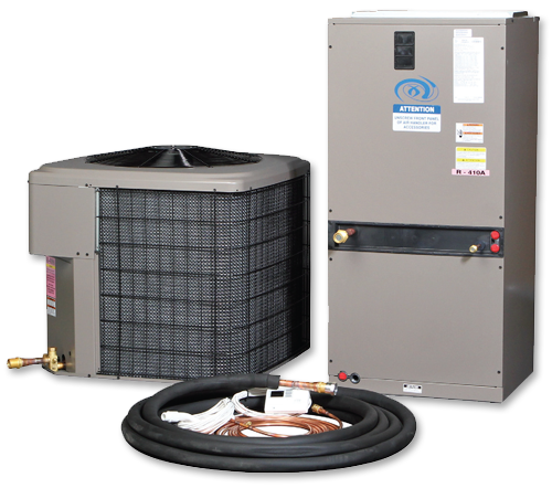 Excel Air XL Series 5 Ton 60,000 BTU *Discontinued* This item has been discontinued, Please try our selection of air-conditioners for an alternative.AIR CONDITIONERS tr { text-align: center; font-family: Verdana, Geneva, sans-serif; } td { color: #000; } body table tr { font-size: 12px; } XL Series The XL Series Air Cooled Air Conditioning unit is Excel's flagship product and is built from a Split System design. The Split System design allows for the Indoor Air Handler to act as the blower inside while the Outdoor Condensing unit rejects indoor heat from the refrigerant to the fresh air outside (connected by a pre-charged refrigerant piping). This unit comes equipped with re-sealable plug and play fittings at every connection point making it your best choice for quick and easy installations. Plug And Play Plug and Play refrigeration fittings make air cooled units simple to install by yourself; without the need of a costly certified installer. Each refrigeration line is pre-charged with the correct amount of refrigerant for your system. Just thread the fittings together and startup your system! The fittings are re-sealable unlike the generic units on the market, meaning, if you need to take your system out for servicing or relocating your unit no refrigerant is lost and can be simply reconnected. Package Contains Outdoor Condensing Unit Indoor Air Handler 40ft Pre-Charged Refrigerant Piping Programmable Digital Thermostat w/ Pre-Wired 15ft Control Wire 40ft 18/2 Control Wire PVC Drain Trap Step By Step Manual & Wiring Diagrams Key Benefits Re-Sealable Plug and Play Fittings All fittings are Brass (Rust Free) Low Ambient Control on Outdoor Condenser Vertical or Horizontal Mounting Industries best support! Ozone Friendly R-410a refrigerant 13 SEER rating Installation Instructions & Diagram Package Specifications PACKAGES SPECS DIMENSIONS SEALED ROOM TON BTU'S AMPS WEIGHT AIR HANDLER CONDENSER # OF LIGHTS (1000W) 2.0 24,000 12.8 250 18X22X46 24X24X28 6 2.5 30,000 14.8 2