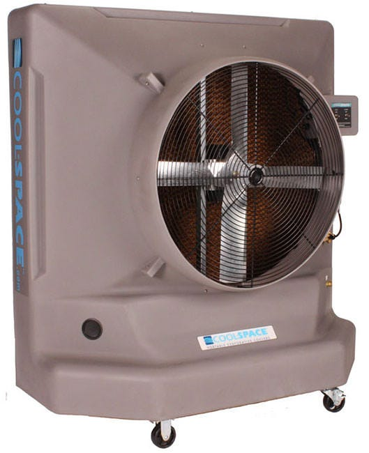 "Cool-Space AVALANCHE36 Single Speed Direct Drive - 36"" Evaporative Cooler"