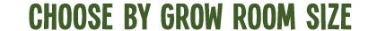 choose by grow room size