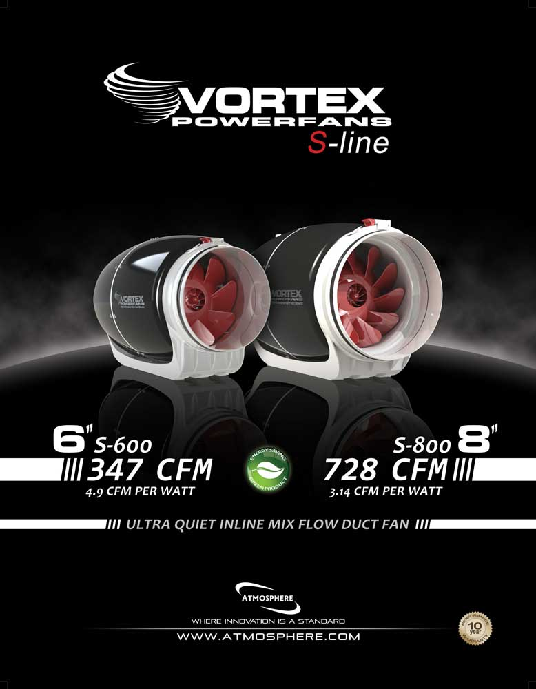 Vortex S-Line Fan Information Page 1