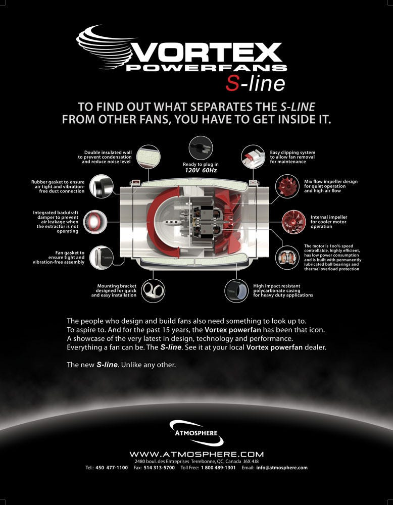 Vortex S-Line Fan Information Page 2