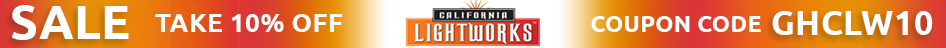 Save 5% on select California Light Works products with coupon code: CLW5