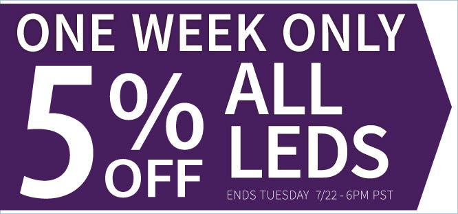 sale 5 off leds