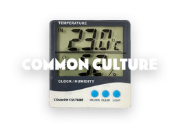 Common Culture Thermo+hygrometer