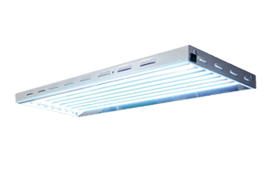 Prism Lighting Science HO T5 V2 4', 8 Bulb Fluorescent Fixture w/ Bulbs - MSRP $229. Now $145