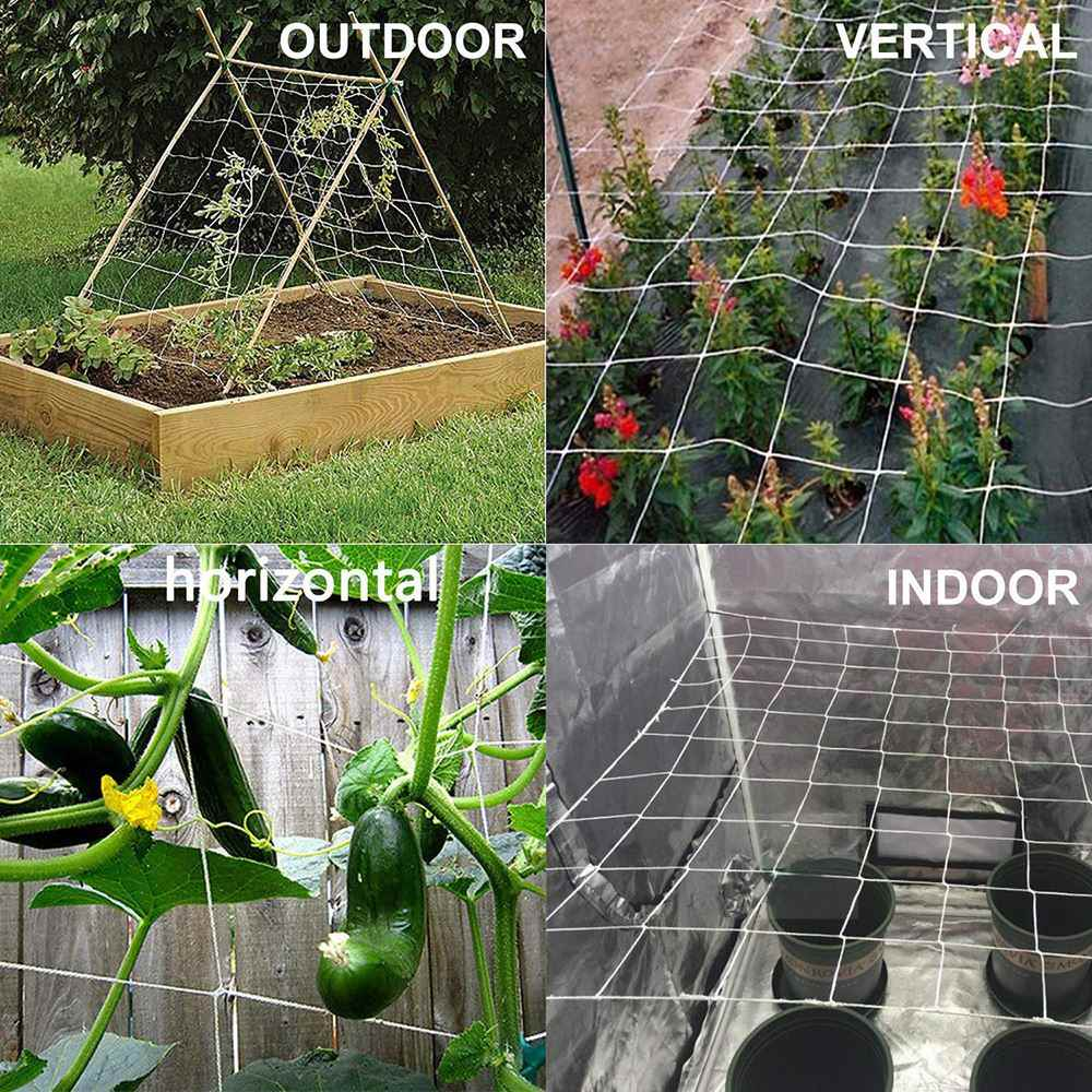 Trellis Netting Installation Horizontal, Vertical, Indoor, Outdoor